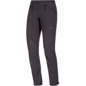 Mammut Courmayeur - Pantalones de Trekking Mujer - negro